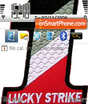 Lucky Strike theme screenshot