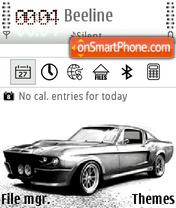 Mustang Grey theme screenshot