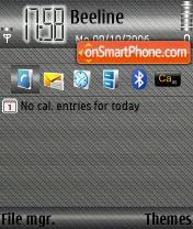 Greyroky theme screenshot