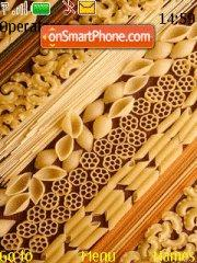 Скриншот темы Pasta