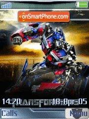 Скриншот темы Transformers 03
