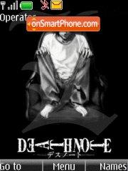 Death Note L Lawliet theme screenshot