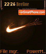 Nike 14 theme screenshot