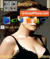 Скриншот темы Anne Hathaway 01