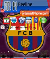 FC Barcelona 07 es el tema de pantalla