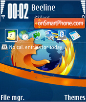 Firefox 07 theme screenshot