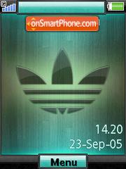 Скриншот темы Adidas Shake It+Mmedia