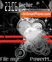 Black Heart 02 es el tema de pantalla