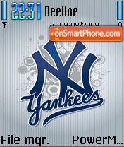 New York Yankees 03 theme screenshot