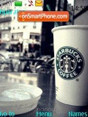 Starbucks Coffee 01 theme screenshot
