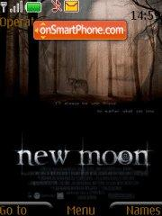 Twilight New Moon theme screenshot