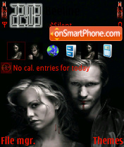 Скриншот темы True Blood 01