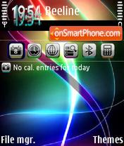 Color light theme screenshot