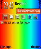 Скриншот темы ColorfulDay2