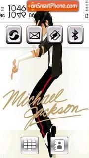 Скриншот темы Michael Jackson 12