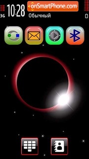 Eclipse moulticolor theme screenshot