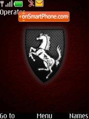 Ferrari Theme 01 tema screenshot