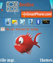 Piranha theme screenshot
