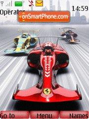 Future F1 Race theme screenshot
