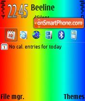 Скриншот темы ColorfulDay2 Def