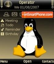 Скриншот темы Penguin Gold