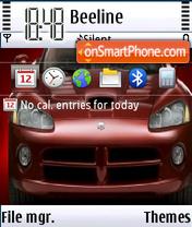 Viper 320x240 es el tema de pantalla