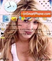 Capture d'écran Blake Lively thème