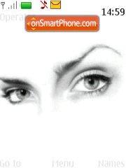 Beautiful Eyes theme screenshot