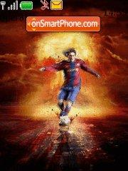 Messi Barsa tema screenshot