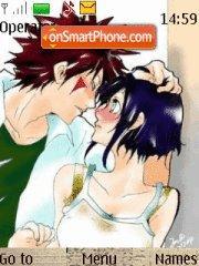 Скриншот темы Kiba And Hinata