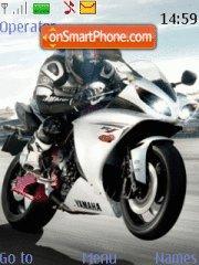 Yamaha R1 2009 theme screenshot
