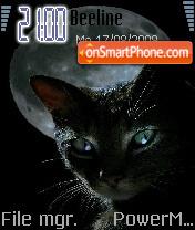 Cat Black es el tema de pantalla