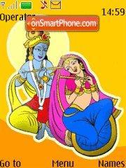 Happy Janamashtami theme screenshot