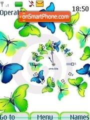 Butterfly swf theme screenshot