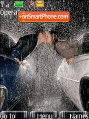 Couple in Rain es el tema de pantalla