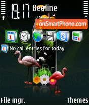 Nokia Vs Sony theme screenshot