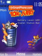 Tom N Jerry es el tema de pantalla