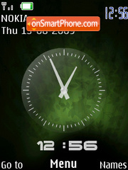 Se S500i Clock theme screenshot