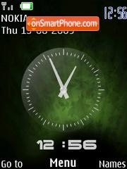 Скриншот темы Se S500i Clock