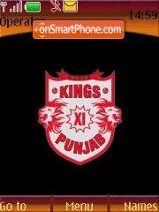 Kings Xi Punjab theme screenshot