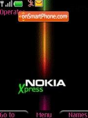 Nokia Xpress 01 theme screenshot