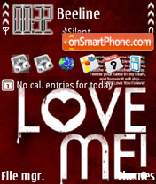 Love Me 02 theme screenshot