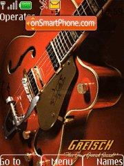 Gretsch Guitar theme screenshot