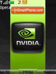 Скриншот темы New Nvidia