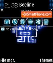 Robot 02 theme screenshot
