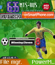 Winning Eleven 8 theme screenshot