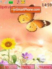 Yellow Nature theme screenshot