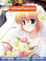 Скриншот темы Bride Anime