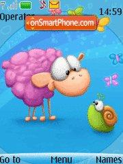 Toosh Sheep 01 theme screenshot