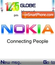 Скриншот темы Nokia Colours White